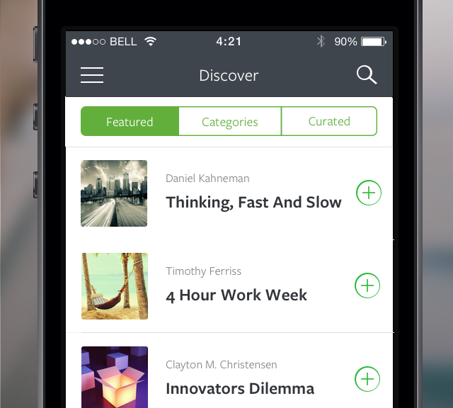 App-Test: Blinkist für Vielleser